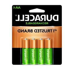 Duracell - Rechargeable NiMH Batteries with Duralock Power P