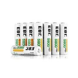 EBL 16 Pack AA 2800mAh Rechargeable Batteries with Battery S