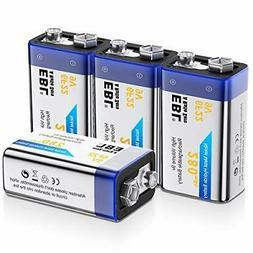 EBL 9V Rechargeable Batteries NiMH Everyday 280mAh 9V Batter