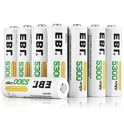 EBL AA Rechargeable Batteries 2300mAh Ni-MH