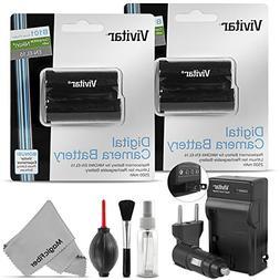 EN-EL15 EN-EL15A Vivitar Battery and Charger Set for Nikon D