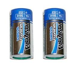 Energizer EVEEL123APB2 Lithium Photo Battery for Digital Cam