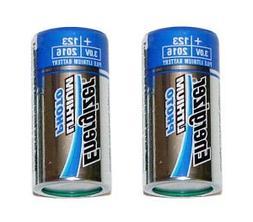 Energizer EVEEL123APB2 Lithium Photo Battery for Digital Cam