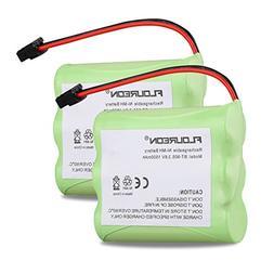 FLOUREON 2-Pack BT-905 3.6V 1500mAh Replacement Cordless Pho
