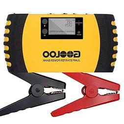 GOOLOO 1000A Peak 20800mAh SuperSafe Car Jump Starter with U