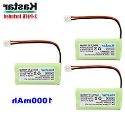 Kastar 3-PACK AAAX2 2.4V EH 1000mAh Ni-MH Rechargeable Batte