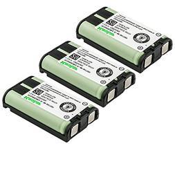 Kastar 3-Pack Type 29 Cordless Phone Battery for Panasonic H
