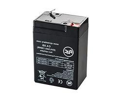 Long Way LW-3FM4.5 Sealed Lead Acid - AGM - VRLA Battery - T