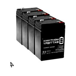 Mighty Max Battery ML4-6 - 6V 4.5AH Replacement Battery for