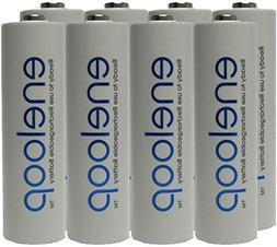 NEW Panasonic Eneloop 4th generation 8 Pack AA NiMH Pre-Char