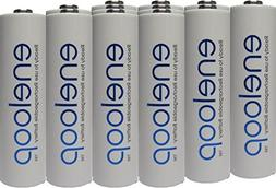 Newest version Panasonic Eneloop 4rd generation 12 Pack AA N