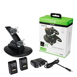 PDP Energizer Xbox 360 Power & Play Controller Charger with