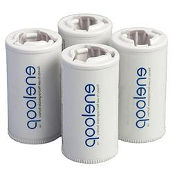Panasonic BQ-BS2E4SA eneloop C Size Battery Adapters for Use