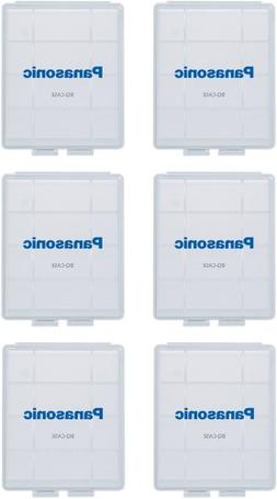 Panasonic BQ-CASE6SA Battery Storage Cases with 4AA or 5AAA