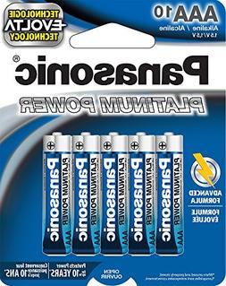 Panasonic Energy Corporation LR03XP/10B Platinum Power AAA A