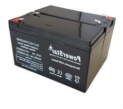 PowerStar 2 Pack - 12V 9Ah BATTERY APC BACK-UPS NS1250, NS 1