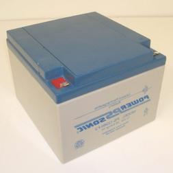 Powersonic PS-12260F2 12V, 26AH Rechargeable Lead Acid Batte