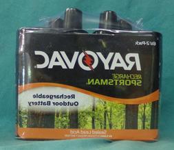 Rayovac 6V Rechargeable Battery, 2pk
