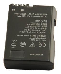 STK EN-EL14 EN-EL14a Battery for Nikon D3400 D5600 D3500 D32
