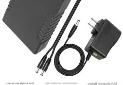 Talentcell Rechargeable 6000mAh Li-Ion Battery Pack for LED