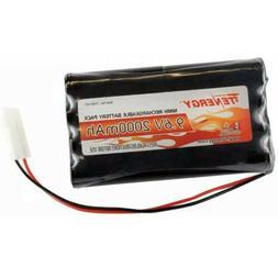 Tenergy 9.6VFlat NiMH Battery Packsfor RC Car, High Capa