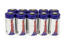 Tenergy Propel CR123A Lithium Batteries with PTC Protected -