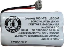 Uniden BBTY0651101 model BT1007 Nickel-Cadmium Rechargeable