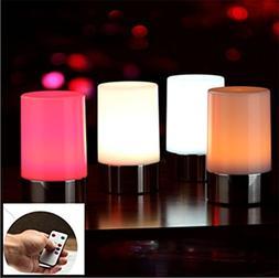 Vongem Wireless LED Rechargeable Table Lamps, Bedside Desk L