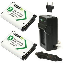 Wasabi Power NP-BX1 Battery  and Charger for Sony NP-BX1/M8,