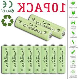 8x AA 2A Size 800mAh 1.2V  Rechargeable Battery For Garden S