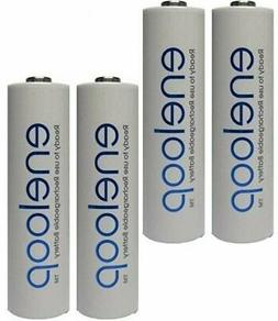 Panasonic Eneloop AA 4 up to 2100mAh Rechargeable Battery