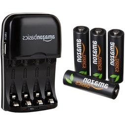 AmazonBasics AA High-Capacity Rechargeable Batteries  and Ni