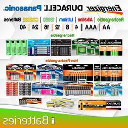 AA AAA Battery Energizer Duracell Eneloop 18650 mAh Recharge