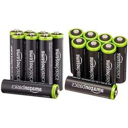 AmazonBasics AA & AAA Rechargeable Batteries  Pre-charged Bu
