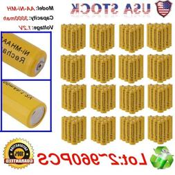 AA/AAA Rechargeable Battery Rechargeable Batteries 1.2V 3000