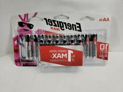 Energizer AA Batteries , Double A Max Alkaline Battery Exp.
