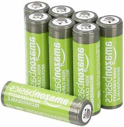 AA High-Capacity Ni-MH Rechargeable Batteries , Pre-charg