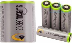 AmazonBasics AA High-Capacity Rechargeable Batteries  Pre-ch