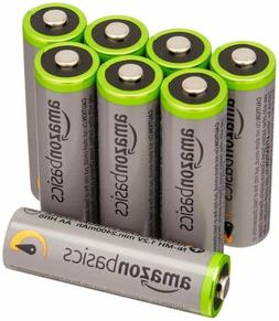 AmazonBasics AA High-Capacity Rechargeable Batteries  NEW FR