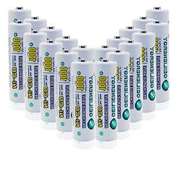 GEILIENERGY NiCd AA 1000mAh 1.2V Rechargeable Batteries for