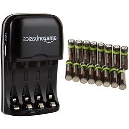 AmazonBasics AA Rechargeable Batteries  and Ni-MH AA & AAA B
