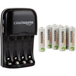 AmazonBasics AA Rechargeable Batteries  and Ni-MH AA & AAA B