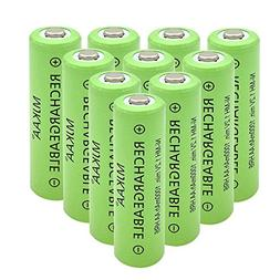 MJKAA AA Rechargeable Battery High Performance 1.2V Ni-MH AA