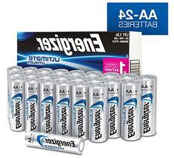 AA Energizer Ultimate Lithium L91 1.5V 24 Batteries In Origi