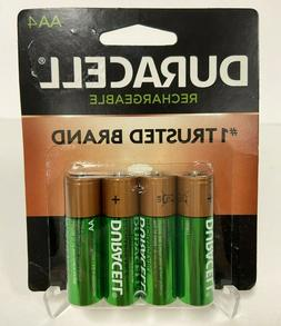 AA4 Duracell Rechargeable 4 Pack