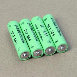 4PCS 1.5V AA/AAA Alkaline Rechargeable Batteriesfor Toy Came