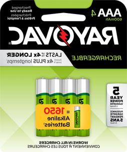 aaa 4 pack rechargeable batteries ld724 4op