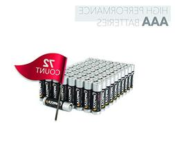 IMPECCA AAA Batteries  High Performance 1.5 Volt, All Purpos