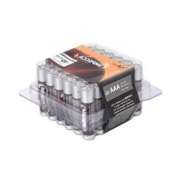 IMPECCA AAA Batteries, All Purpose Alkaline Batteries  High