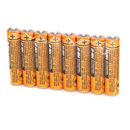 8pcs AAA battery for HHR-65AAABU For Panasonic Cordless Phon